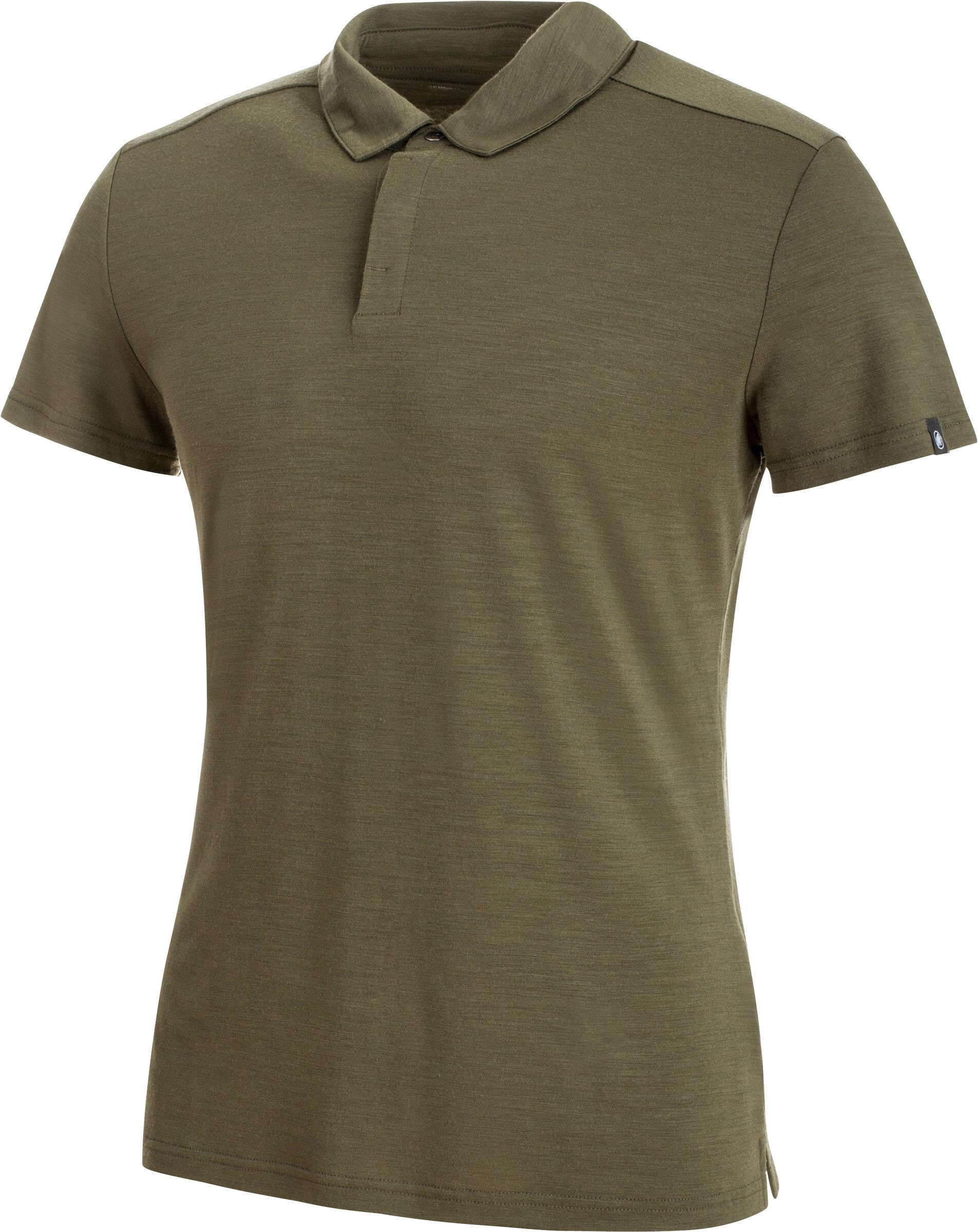 4af82081 Mammut Alvra Shortsleeve Shirt Men olive at Addnature.co.uk